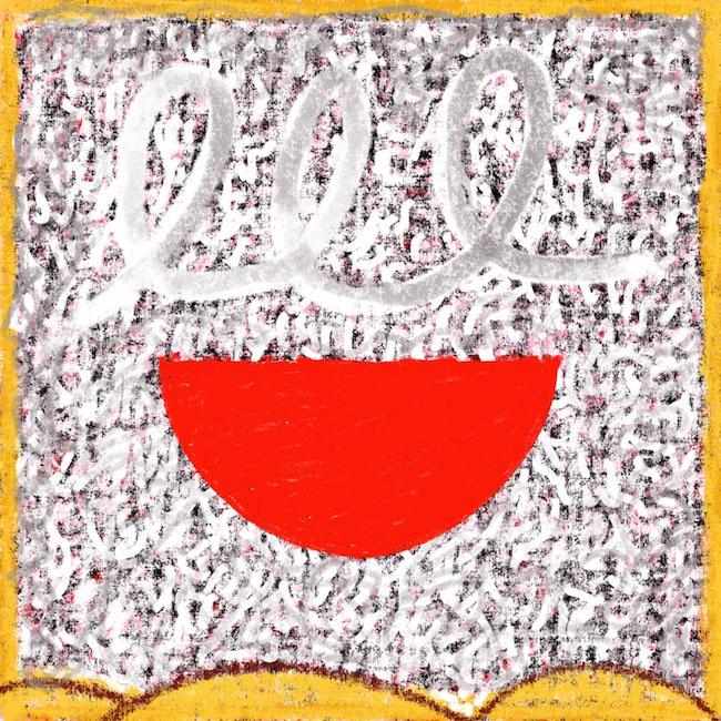 Bob Schrei painting Bowl