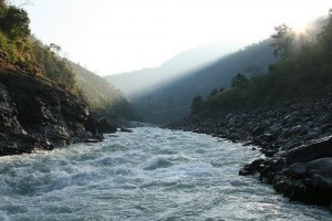 Mountain-Ganges