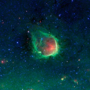 green ring nebula