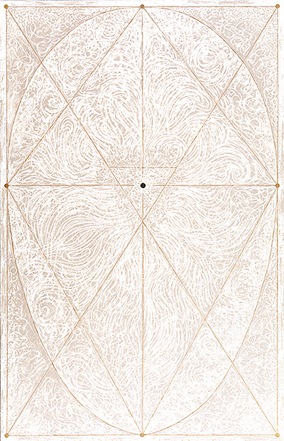 robert schrei painting sacred geometry 1